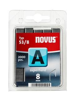 Novus tűzőkapcsok A SH szuperkemény 8 mm 2000 db