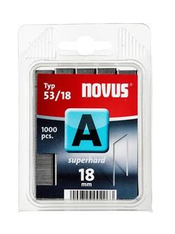 Novus tűzőkapcsok A SH szuperkemény 18 mm 1000 db