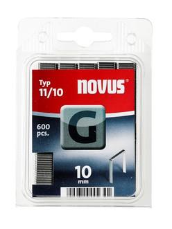 Novus tűzőkapcsok, lapos G 11 10 mm 600 db