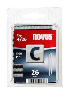 Novus tűzőkapcsok, keskeny C 4 26 mm 1100 db
