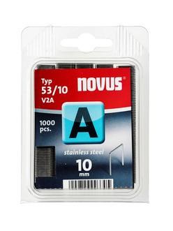 Novus tűzőkapcsok A 53 V2A nemesacél 10 mm 1000 db