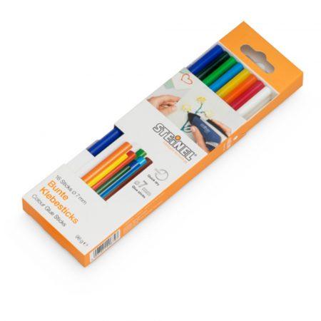 Steinel ragasztórúd 96g színes, Ø7 mm x 150 mm
