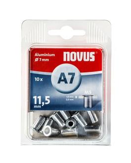 Novus popszegecs-anya M5 A7 x 11.5 alu 1.0-2.0 10DB