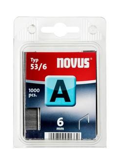 Novus tűzőkapcsok A 53 normál 6 mm 1000 db