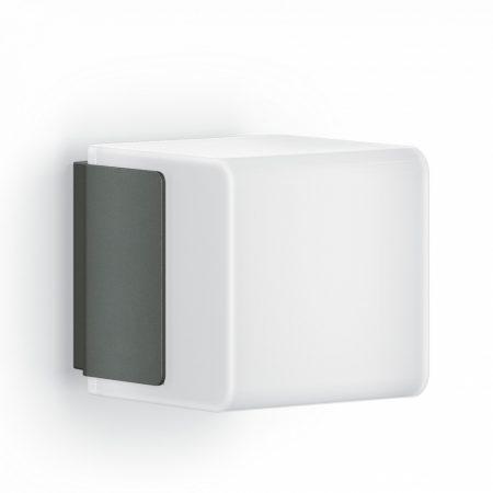 Steinel szenzorlámpa CUBO L 835 LED iHF, kültéri antracit