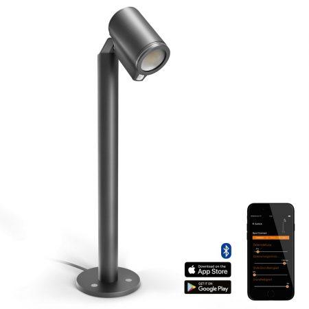 Steinel szenzorlámpa Spot Way S Connect, kültéri, antracit