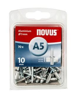 Novus popszegecsek alumínium A5 12mm 6.0-8.0 70 db