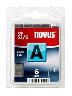 Novus tűzőkapcsok A 53 normál 6 mm 2000 db