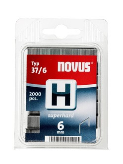 Novus tűzőkapcsok H 37 SH szuperkemény 6 mm 2000 db
