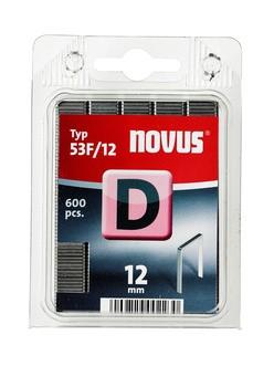 Novus tűzőkapcsok, lapos D 53 F 12 mm 600 db