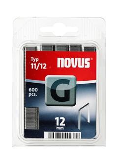 Novus tűzőkapcsok, lapos G 11 12 mm 600 db