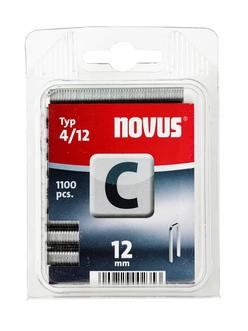 Novus tűzőkapcsok, keskeny C 4 12 mm 1100 db