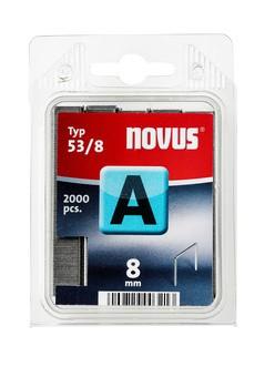 Novus tűzőkapcsok A 53 normál 8 mm 2000 db