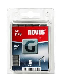 Novus tűzőkapcsok, lapos G 11 8 mm 5000 db