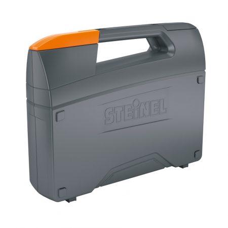 Steinel műanyag koffer pisztoly alakú hőlégfúvókoz, üres