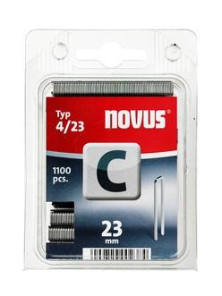 Novus tűzőkapcsok, keskeny C 4 23 mm 2000 db