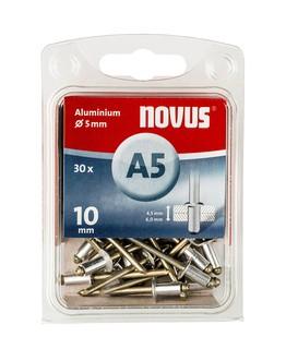 Novus popszegecsek alumínium A5 10 mm 4.5-6.0 30 db