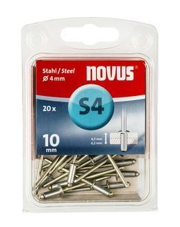 Novus popszegecsek acél S4 10 mm 4.5-6.5 20 db