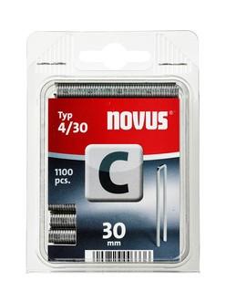 Novus tűzőkapcsok, keskeny C 4 28 mm 2000 db
