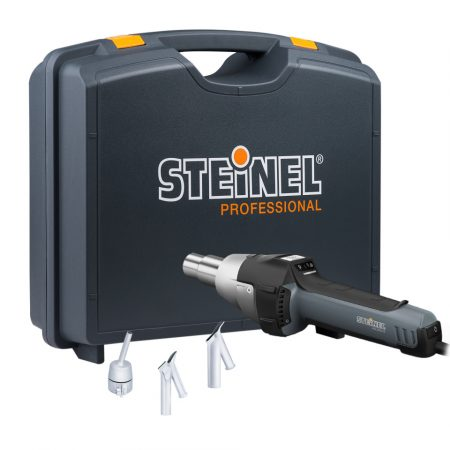 Steinel hőlégfúvó HG 2620 E kofferben, melegburkolat hegesztő készlet