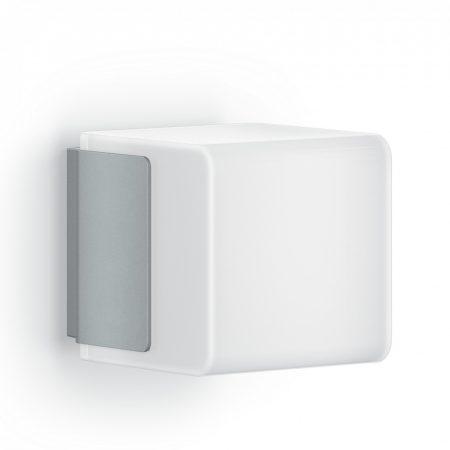 Steinel szenzorlámpa CUBO L 835 LED iHF, kültéri ezüst