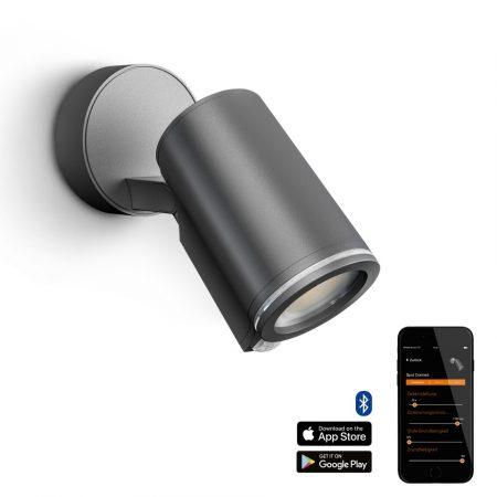 Steinel szenzorlámpa Spot One S Connect, kültéri, antracit