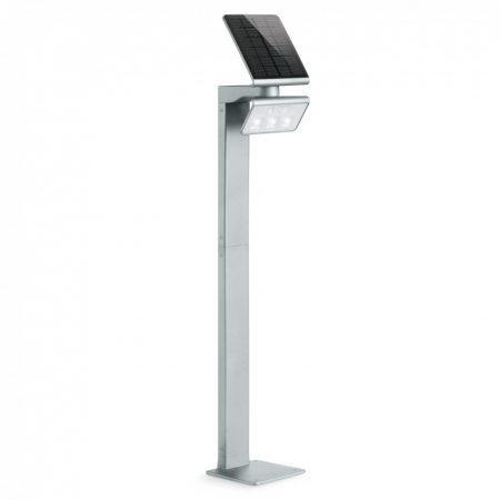 Steinel szenzorreflektor XSolar GL-S napelemes LED, állólámpa ezüst